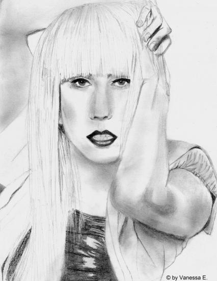 Lady Gaga by vany123